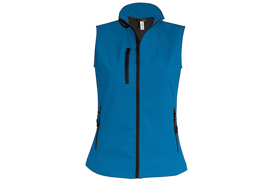 Chaleco impermeable softshell transpirable para mujer  cef46ab8ff2a5
